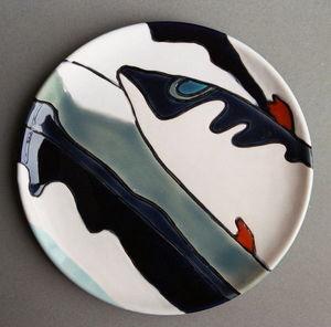 Emmanuelle Parent -  - Assiette Plate