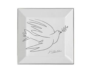 MARC DE LADOUCETTE PARIS - picasso la colombe 1950 - Assiette D�corative