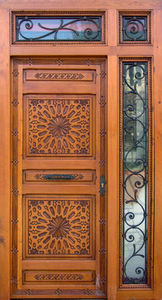 Decoraci�n Andalus� -  - Porte De Communication Vitr�e