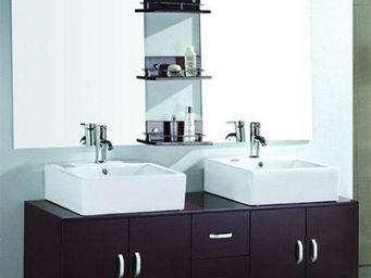 UsiRama.com - doubo-doubo top-fonction 1400mm - Meuble Double Vasque