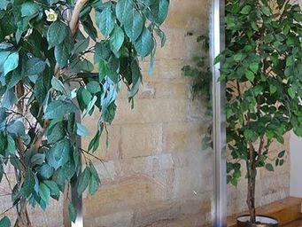 Revisage - wasserwand glas edelstahl modell verion - Mur D'eau