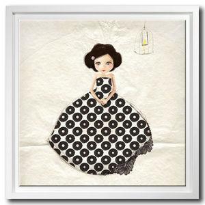 DECOHO - la princesse - Tableau Décoratif Enfant