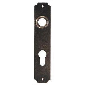 FERRURES ET PATINES - grande plaque de porte en fer vieilii pour porte d - Entrée De Meuble