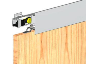 Wimove - bandeau aluminium anodise naturel - longueur 1,8 m - Motorisation Pour Porte D'intérieur
