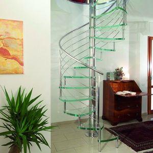 L'ECHELLE EUROPEENNE - rosace - Escalier Hélicoïdal