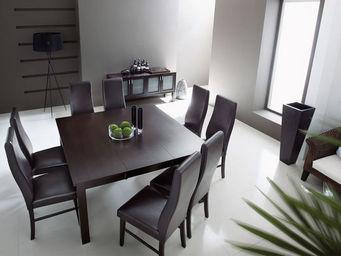 Miliboo - jadon - Table De Repas Carrée