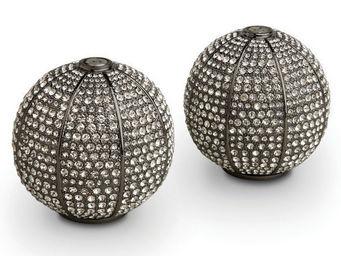 L'OBJET - pave sphere spice jewels - Salière Et Poivrière