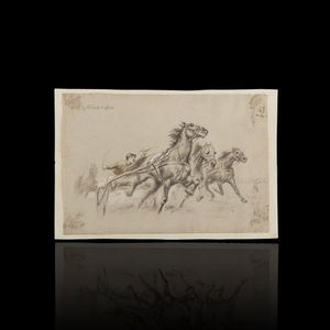 Expertissim - henri vincent-anglade. lithographie - Estampe