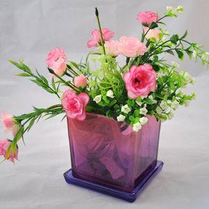 Nikolsk Factory of Lighting Glass -  - Pot De Fleur