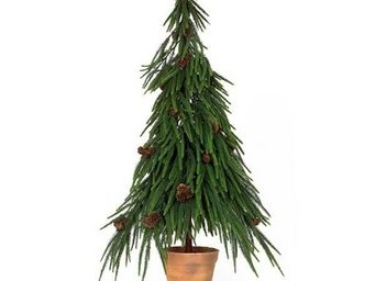 Deco Factory - sapin de no�l artificiel norfolk 90 cm - Arbre Artificiel