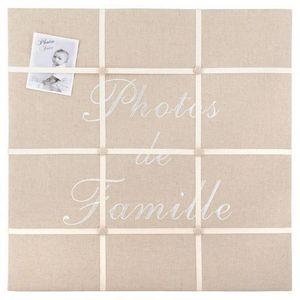 Maisons du monde - pêle-mêle ficelle photo famille - Pêle Mêle