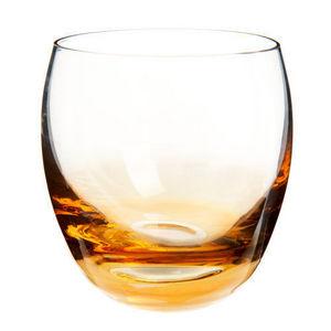 Maisons du monde - gobelet dégradé lustré ambre - Verre À Whisky