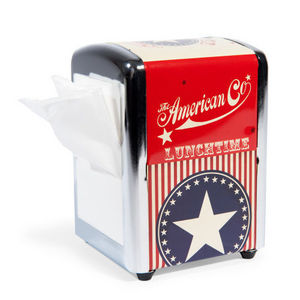 MAISONS DU MONDE - distributeur de serviettes american go - Distributeur De Serviettes En Papier