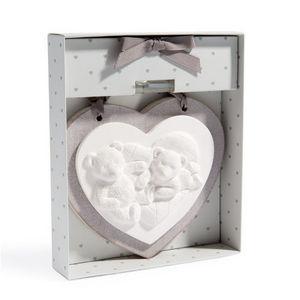 Maisons du monde - c�ramique parfum�e 2 oursons - Panneau D�coratif