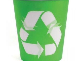 Manta Design - corbeille à papier lenticulaire design recycle - Corbeille À Papier