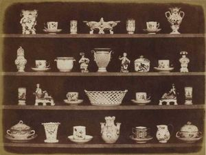 LINEATURE - articles of china - 1844 - Photographie