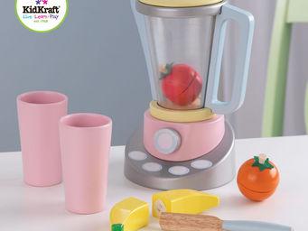 KidKraft - blender � smoothies en bois pastel pour enfant 16x - Jeu D'�veil