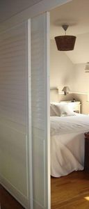 DECO SHUTTERS - shutters en peuplier - Panneau Coulissant