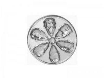 Adiserve - assiette à huîtres 26 cm par 4 couleurs argent - Vaisselle Jetable