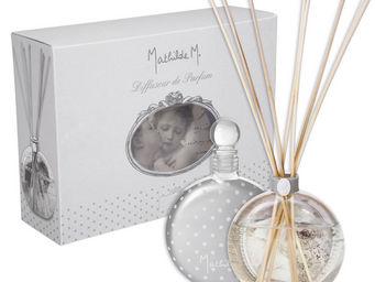Mathilde M - diffuseur verre souffl� ange aux fleurs, parfum ma - Diffuseur De Parfum