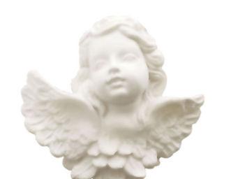 Mathilde M - savon t�te d'angelot, parfum poussi�re d'etoile - Porte Savon � Poser