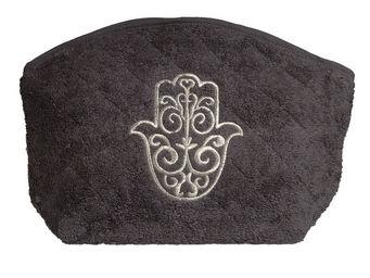 SIRETEX - SENSEI - trousse eponge brod� main de fatma 420gr/m� coton - Trousse De Toilette