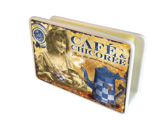 Orval Creations - cache-�ponges caf� chicor�e - Porte �ponge