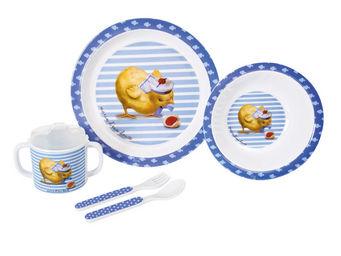 Orval Creations - coffret repas marin d'eau douce - Assiette Enfant