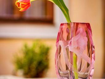 Moser - blossom - Vase � Fleurs