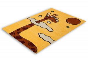 NAZAR - tapis amigo 133x190 yellow - Tapis Enfant