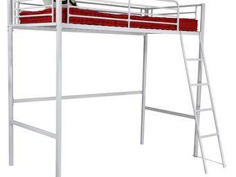 Up Trade - lit mezzanine blanc 90 x 190 rock - Lits Superpos�s