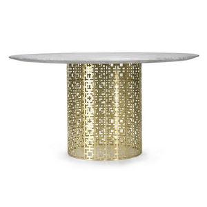 POLYEDRE Home Design - nixon - Table De Repas Ronde