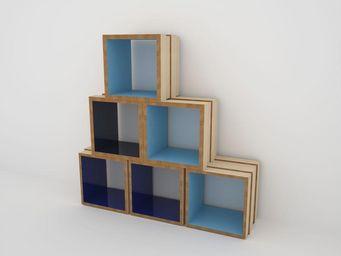 MALHERBE EDITION - pile ou face carré - Rangement Modulaire