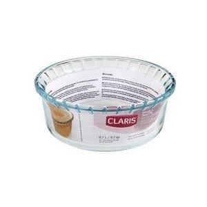 WHITE LABEL - moule à soufflé cannelé en verre de saint-gobain - Moule À Gâteau