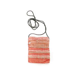 WHITE LABEL - sac pochette bandouli�re coton - Sac