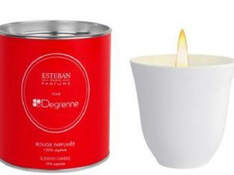 Guy Degrenne - th� blanc - Bougie Parfum�e
