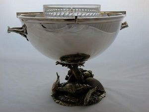 NOEL COLLET Orf�vre - fruits de mer - Coupe � Caviar