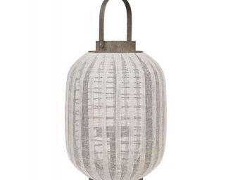 BLANC D'IVOIRE - mekong gm - Lanterne D'intérieur