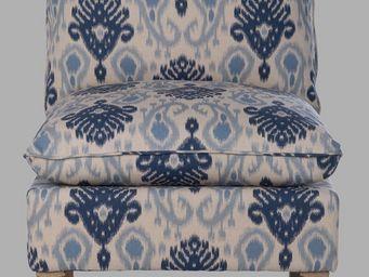 BLANC D'IVOIRE - arnaud bleu - Chauffeuse