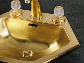 Cristal Et Bronze - africa - Vasque À Encastrer