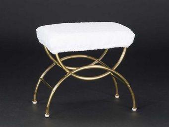 Cristal Et Bronze -  - Tabouret De Salle De Bains