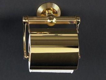 Cristal Et Bronze - cannelé - Porte Papier Hygiénique