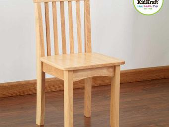 KidKraft - chaise naturelle en bois pour enfant 34x32x68cm - Chaise Enfant