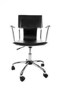 KOKOON DESIGN - fauteuil de bureau réglable en similicuir et métal - Fauteuil De Bureau