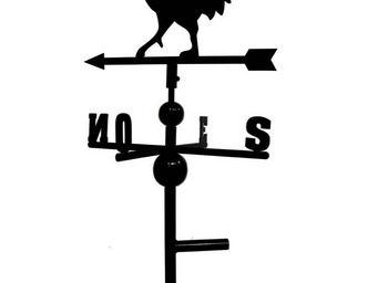 BARCLER - girouette coq en fer forg� 97x47x47cm - Girouette