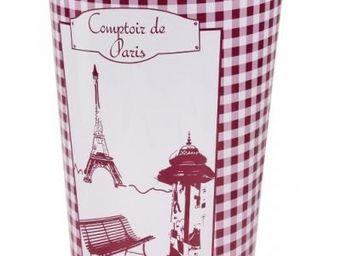 Fomax - poubelle comptoir de paris - couleur - violet - Corbeille � Papier