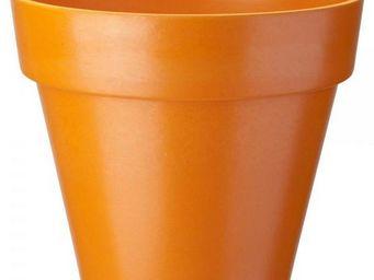 NetCadeau - cache pot bambou orange - Cache Pot