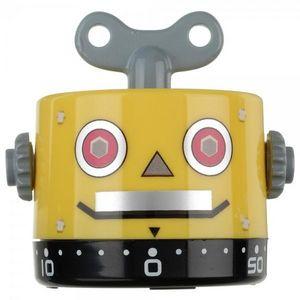 La Chaise Longue - minuteur robot ii jaune - Minuteur