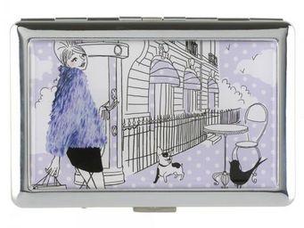 La Chaise Longue - etui à cigarettes les parisiennes la fashion - Etui À Cigarettes