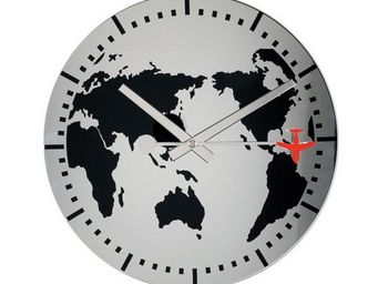 La Chaise Longue - horloge murale monde - Pendule Murale